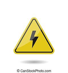 High voltage vector sign