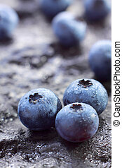 highbush, blueberry), czernica, (northern, owoce