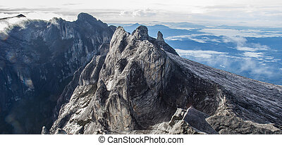 Kinabalu - Highest submit Kinabalu mountain 4095 m. in...