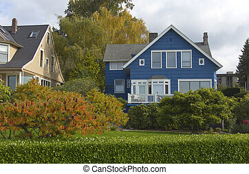Highland drive neighborhood Seattle WA. - Highland drive...