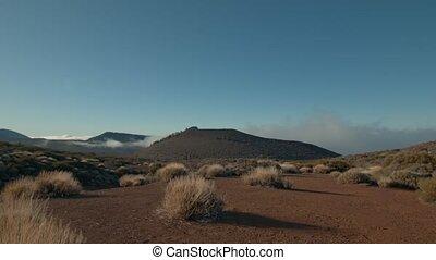 Highland nature and bright sunshine. Tenerife scene - ...