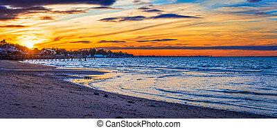 Highlands Panorama Sunset