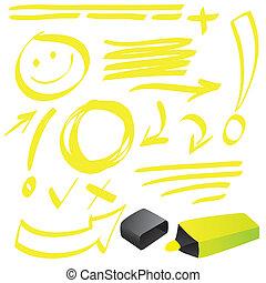 Highlighter Doodle