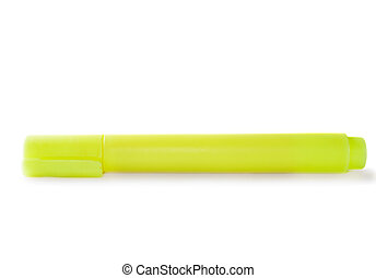 Highlighter isolated on the white background