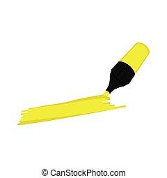 Highlighter pen icon