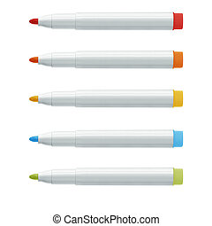 highlighter pens - Colorful text highlighter pens, (with...