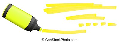highlighter with markings - colored highlighter with ...