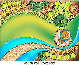 landscape design plan