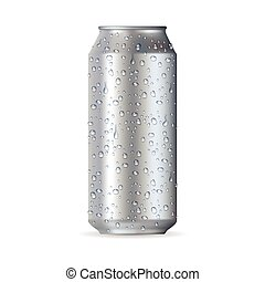 Highly realistic aluminum can