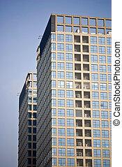highrise, bâtiments