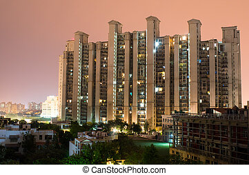 Highrise building gurgaon - Highrise multistory apartments...