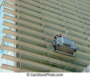 Highrise building servicing and cleaning