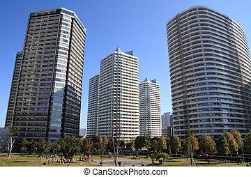 highrise, condominium