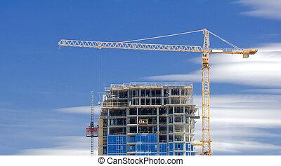 A highrise under construction