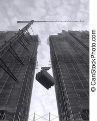 Highrise Construction Site