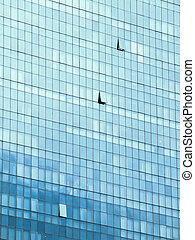 highrise glass building (filter effect used)