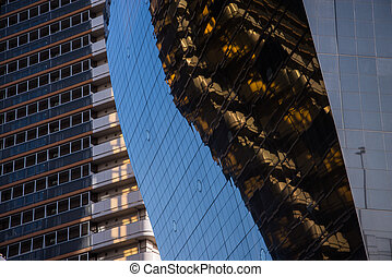 highrise glass building