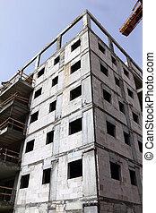 highrise, site construction
