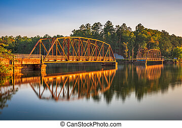 Highway 123 Fishing Pier in Westminster, South Carolina