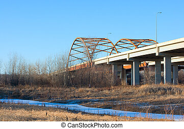 Highway 77 Bridge in Eagan Minnesota