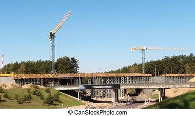 Highway, bridge Construction