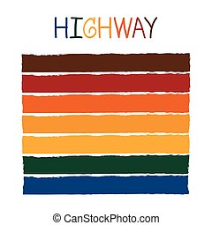 Highway Color Tone without Name