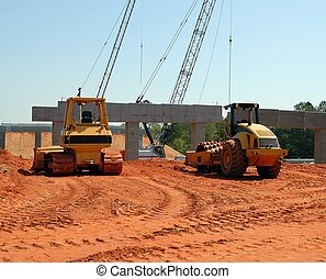Highway Construction Site