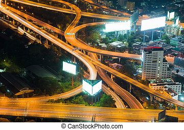 Highway curved