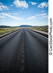 Highway Death Valley nevada - Highway into Death Valley...