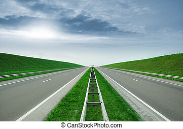 Highway - Empty highway