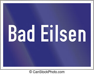 Highway Exit Bad Eilsen