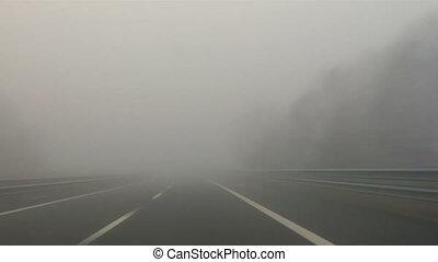 Highway fog 01