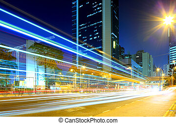 Highway in modern city