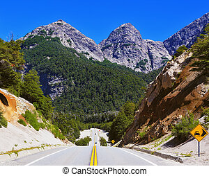 Highway in the mountains