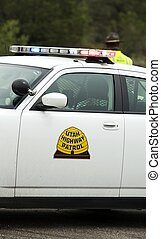 Highway Patrol in USA