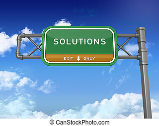 Highway Sign - Solutions