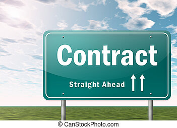Highway Signpost Contract