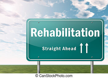 Highway Signpost Rehabilitation