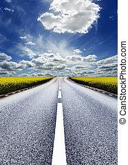 Highway/photographic-retouching