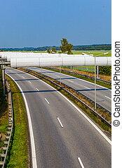 highway., strada