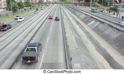 highway timelapse high definition