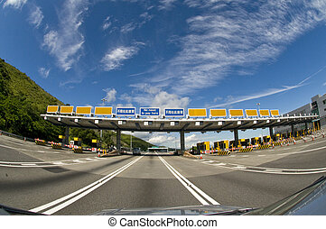 Highway Toll Booth