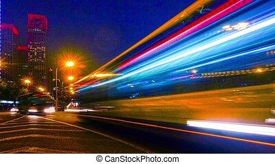 Highway traffic in Beijing
