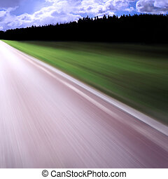 Highway/motion blur