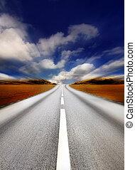 highway/motion, borrão