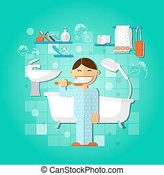 higiene pessoal, conceito