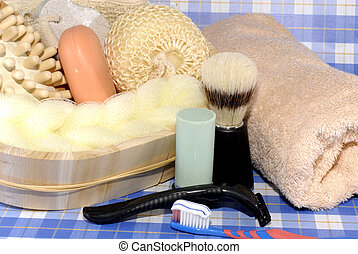 higiene pessoal, macho, ferramentas