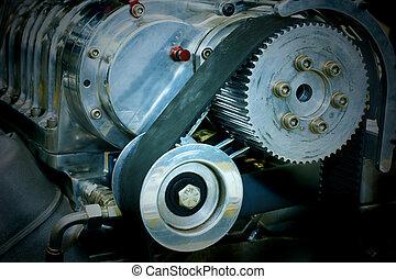 Hih performance car engine