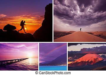 Hike collage