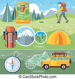Hike, Expedition and Tourism